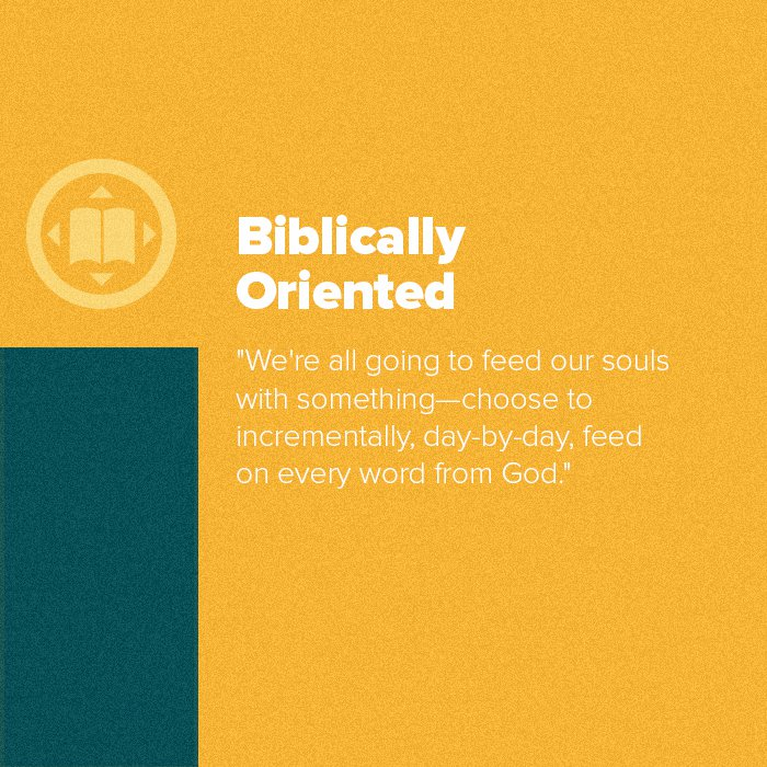 Core Values: Biblically Oriented