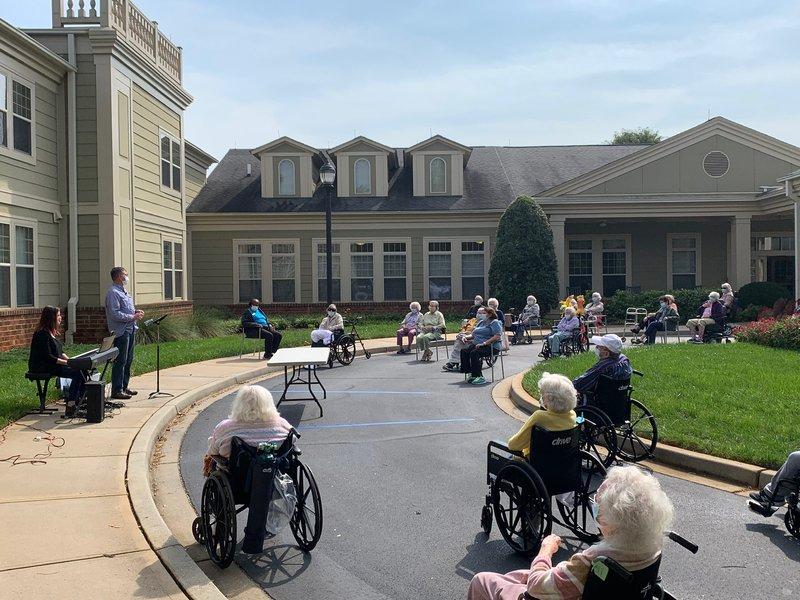 Senior Honor Outdoor Service
