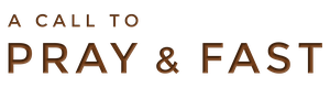 Pray and Fast Logo